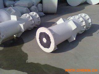 化工成型设备 石墨改性聚丙烯pp塑料防腐换热器 冷凝器