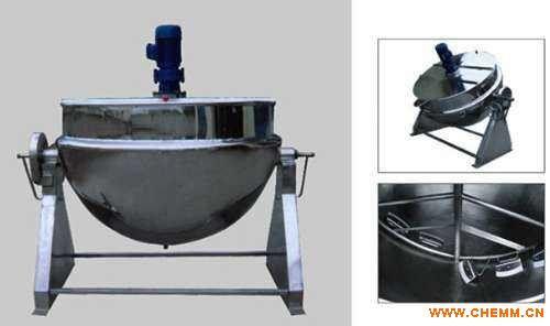 夹层锅-不锈钢夹层锅-蒸汽加热夹层锅-电加热夹层锅-北京市静鑫通茂