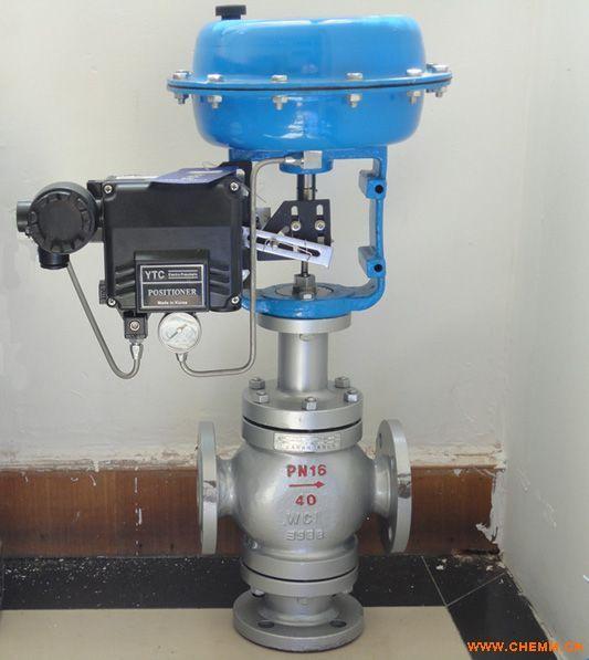 zjhf(h)型气动薄膜三通调节阀 - 中国化工机械网图片