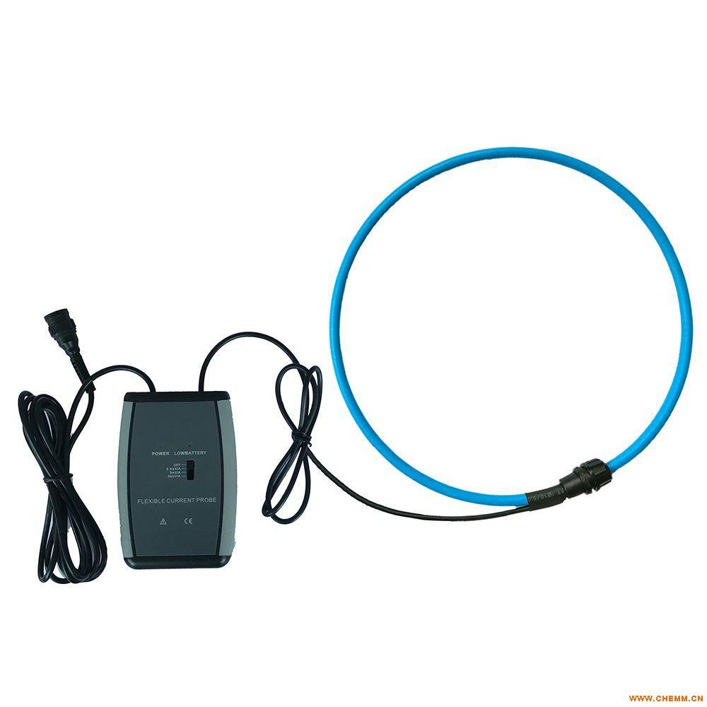 ES100RD罗氏线圈电流传感器,是一个在非铁磁性材料上均匀缠绕的环形线圈,无磁滞效应,几乎为零的相位误差,无磁饱和现象,线性度极高。输出信号是电流对时间的微分,通过对输出电压信号进行积分,就可以真实还原输入电流,其测量电流范围可从毫安级到上万安。主要用于交流漏电流、大电流、高次谐波电流、复杂波形电流、瞬态冲击电流、相位、电能、功率、功率因数等检测。搭配积分器,易于集成到其他设备, 如:电能表现场校验仪、多功能电能表、示波器、数字万用表、电缆识别仪、电缆故障检测仪、双钳式接地电阻测试仪、双钳式相位伏安表、