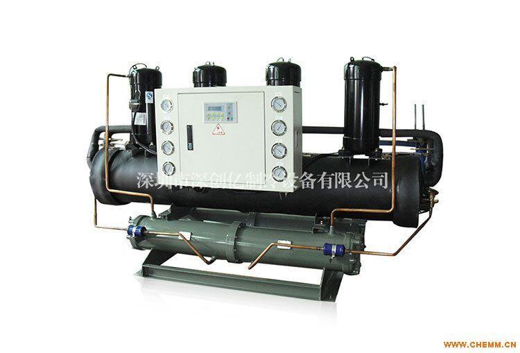 内江冷冻机长期供应30HP水冷开放式冷水机