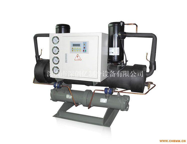 黑河冷水机出厂低价15HP水冷开放式冷水机
