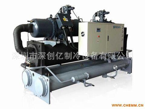 郑州冷冻机优质品牌300HP低温螺杆冷水机-5度