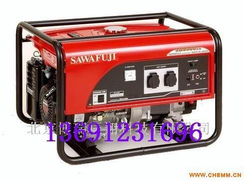 泽藤本田发电机SH6500EX