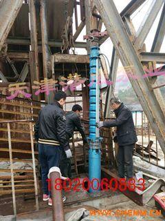 大流量,高扬程,大功率热水深井泵生产厂家天津潜成泵业