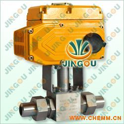 电动高压焊接球阀