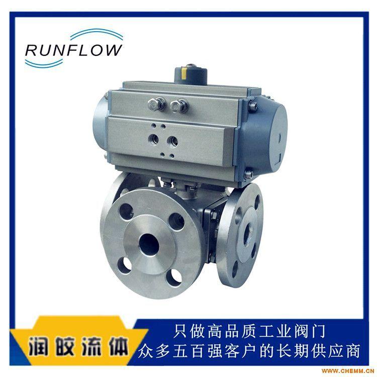 runflow气动四通阀