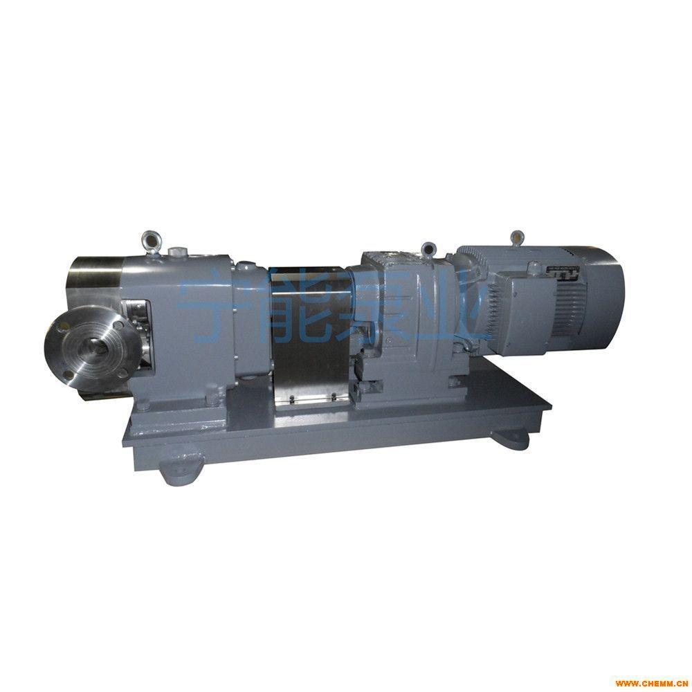 上海宁能通用型式不锈钢转子泵