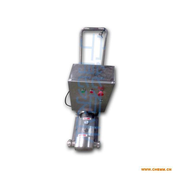 上海宁能移动式不锈钢转子泵