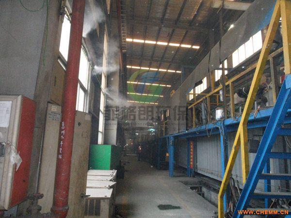 宿迁大型仓库/车间/厂房喷雾降温系统厂家/全自动环保喷雾降温设备