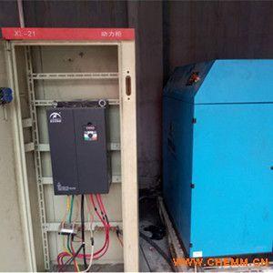 奥圣变频器ASB530应用于纺织厂螺杆空压机