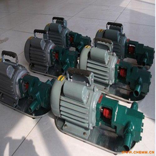 供应WCB30手提式齿轮泵,齿轮油泵,微型齿轮泵