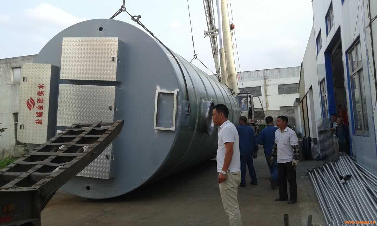 姜堰泰兴一体化污水提升泵站厂家直销