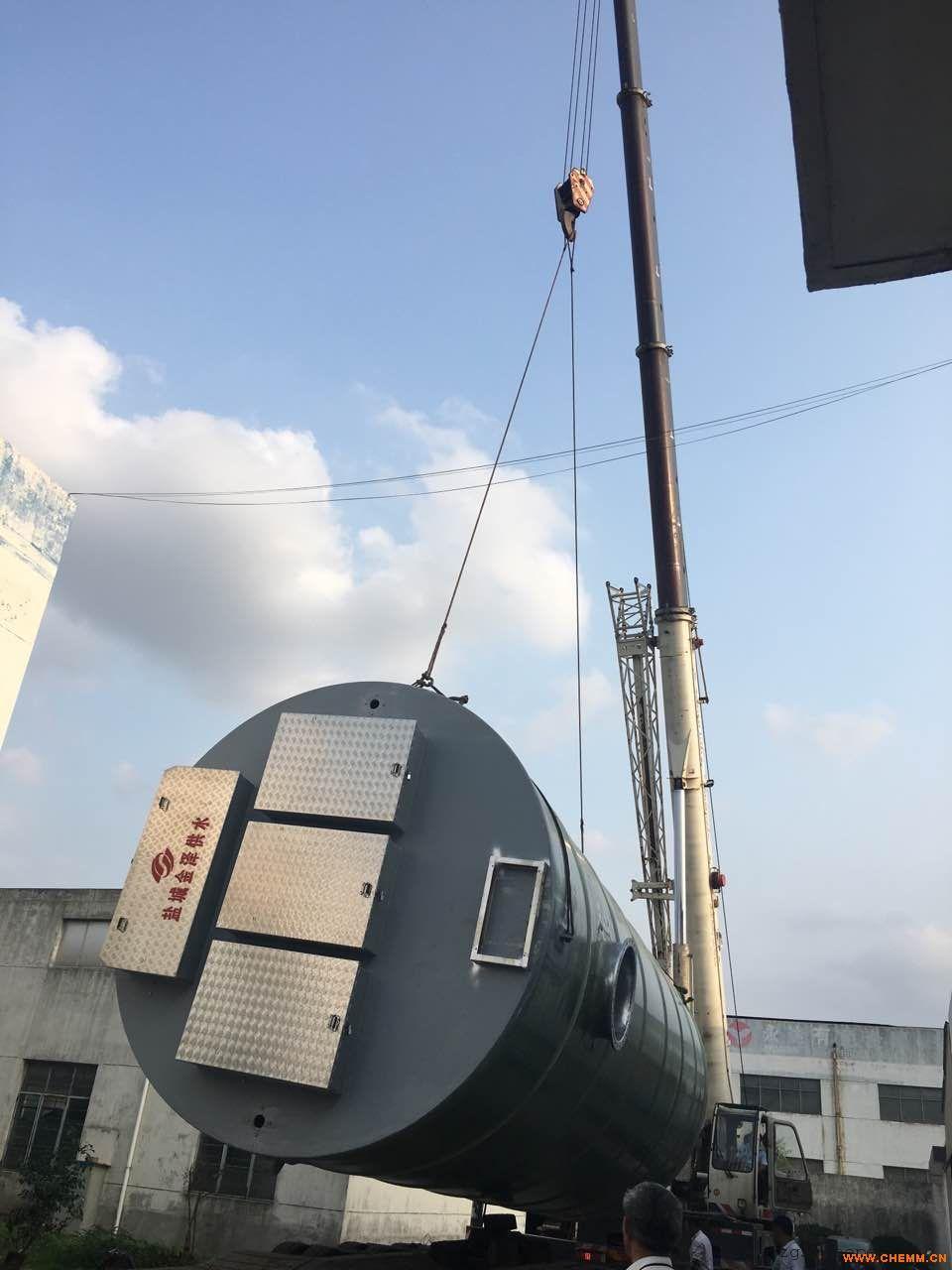 一体化预制式污水提升泵站