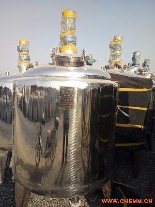 供应现货二手 2000L全新全不锈钢电加热反应釜