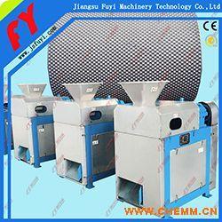 复混肥干法挤压造粒机,氯化铵专用对辊造粒机,专业硫酸钾造粒成套设备.