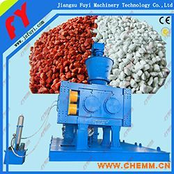 专业氯化钙干法挤压制粒设备,氯化镁专用挤压颗粒机,膨润土对辊造粒设备