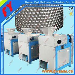 专业白炭黑对辊造粒设备,复混肥干法挤压造粒机,磷肥专用造粒成套产线.