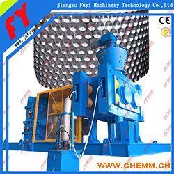专业元明粉干法造粒机,冰晶石对辊造粒设备,碳酸氢钙韩发挤压颗粒机.