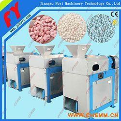 不锈钢对辊挤压造粒机,专业复混肥干法造粒成套设备,氯化钾专用造粒机.