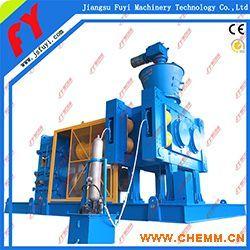 氯化钾对辊挤压造粒机,有机肥干法制粒机,硫酸铵造粒成套设备.