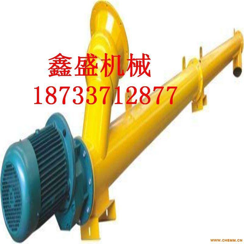 无缝钢管式螺旋输送机 密封性能好 效率高  可定制