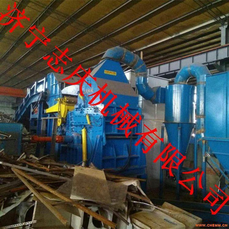 山东志庆630型金属破碎机生产线 锤式破碎机价格