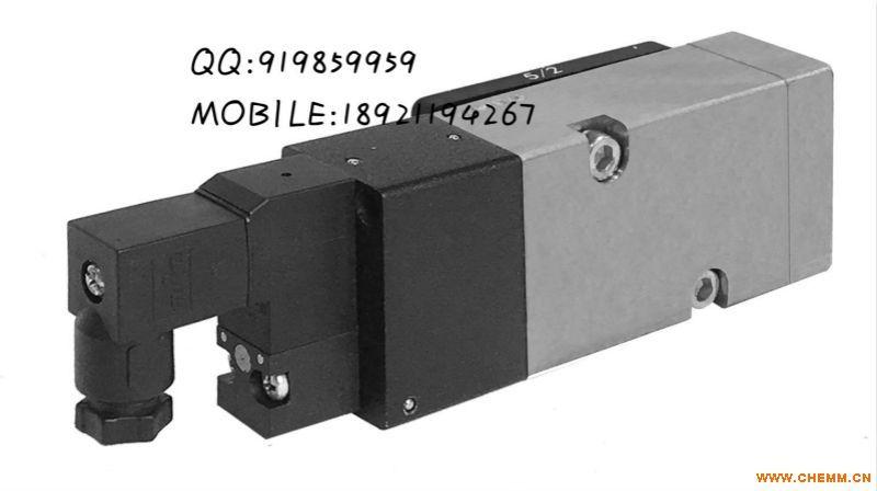 ALV610F3C1板接式二位五通单电控低功耗不锈钢电磁阀