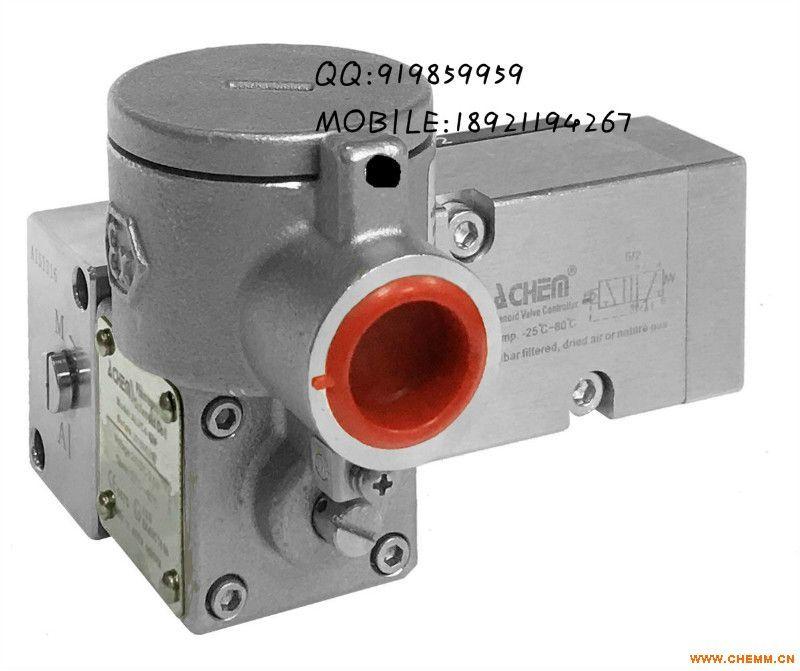 ALV610F3C4板接式二位五通单电控防爆型不锈钢电磁阀