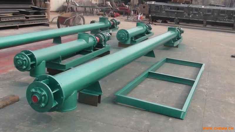 U型螺旋输送机 无轴螺旋输送机 耐高温