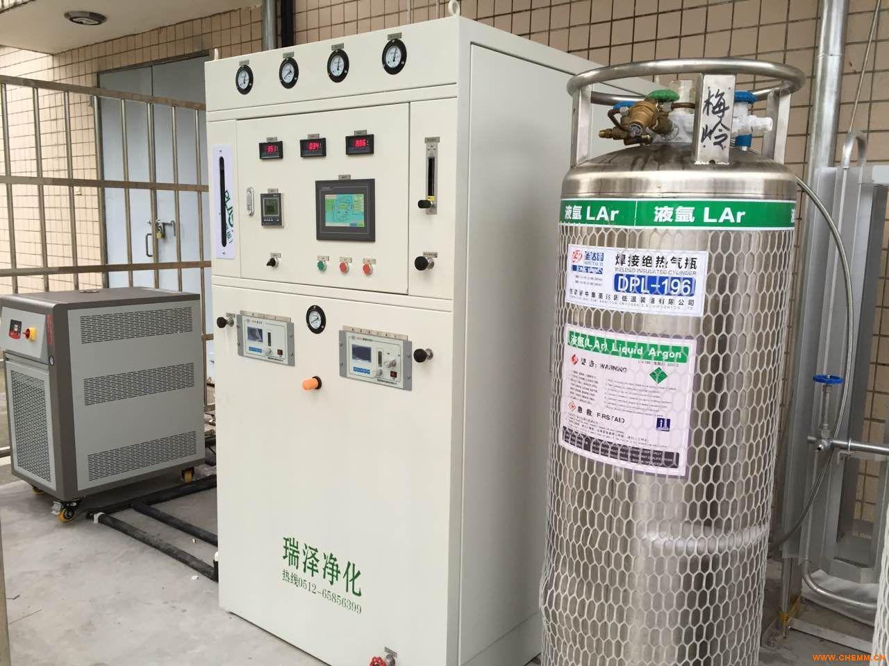 全自动氩气纯化装置、一键式氩气纯化器、无人值守氩气纯化longfa168龙8国际官网
