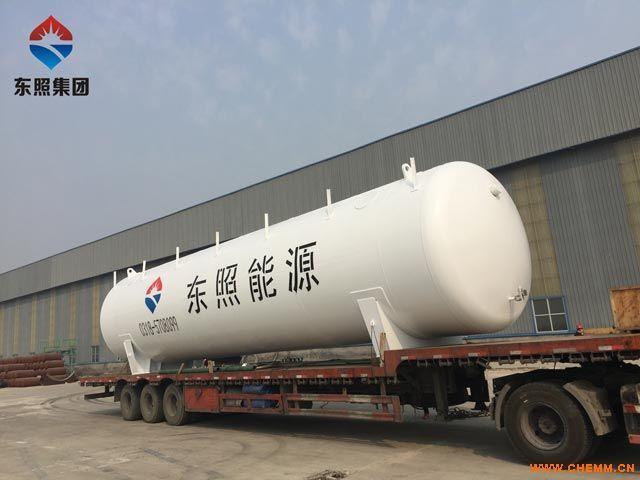60立方卧式低温储罐生产-东照能源LNG燃气设备厂家