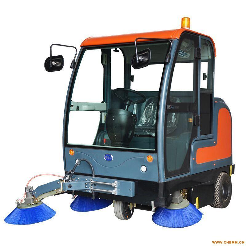 河北电动驾驶式扫地车,泰安顶棚座驾式扫地机,聊城户外全自动清扫车,物业用道路清扫机