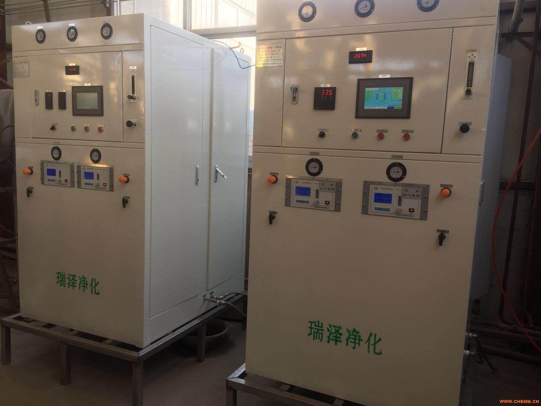 超纯氢气纯化装置纯化longfa168龙8国际官网性价比高、稳定、可靠