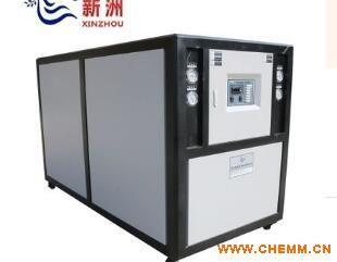 吹瓶机专用水冷式冷水机组 厢式冷冻机