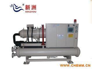 汉钟140干式间冷螺杆冷水机组 10万大卡冷水机组