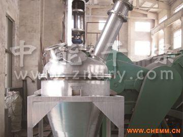 钠盐浓缩回收专用干燥机,单锥螺带真空干燥机