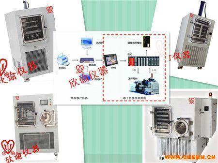 上海 欣谕XY-FD-S系列中试型PLC冷冻干燥机