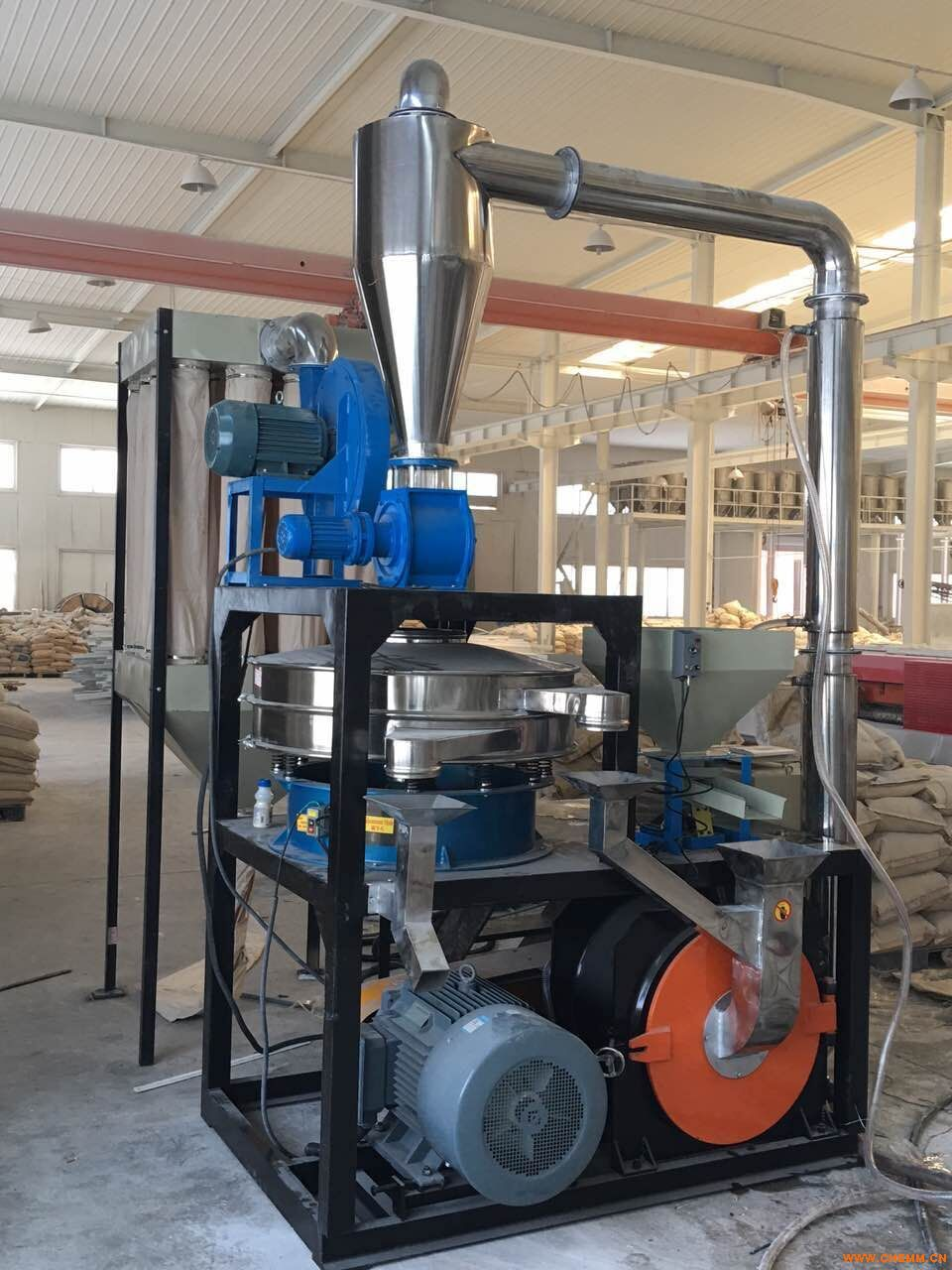 高速涡流(多用)磨粉机-SMP塑料磨粉机