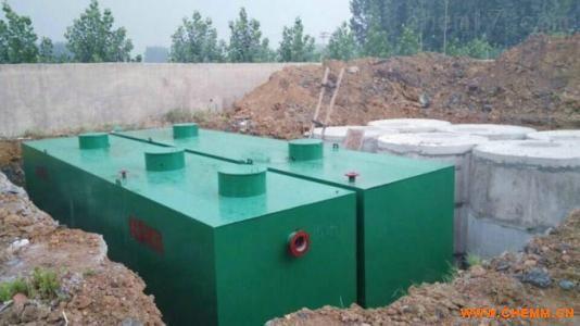 针对贵州地区医院污水治理的一体化设备