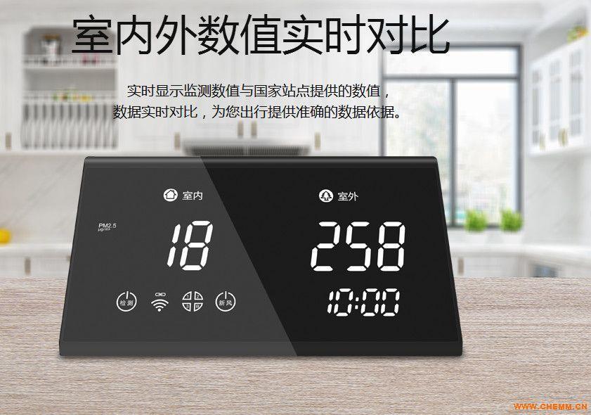 深圳碧野千里 BYQL-C5X PM2.5监测控制器 新风控制器 新风联动