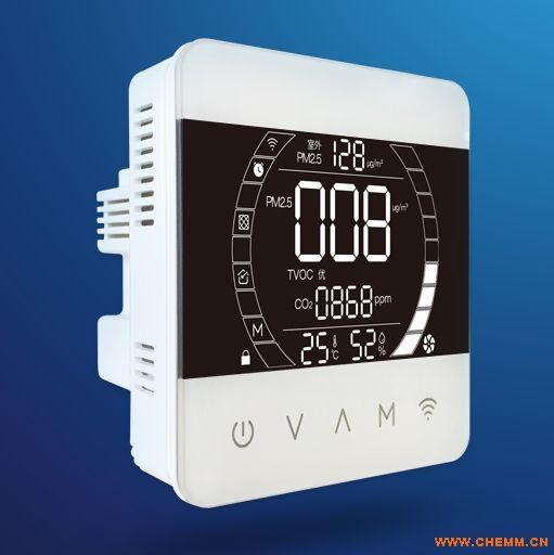 室内环境多参数环境系统,  室内空气质量发布系统,联网型环境检测仪