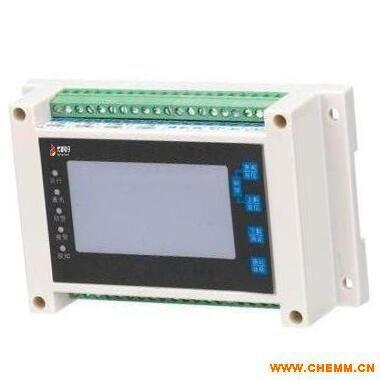 南阳许昌剩余电流式DYF-DE液晶型1/4/8路电气火灾监控探测器 分体式安装