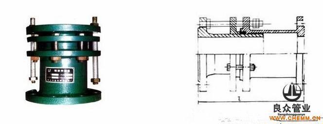 SF钢制套管伸缩器