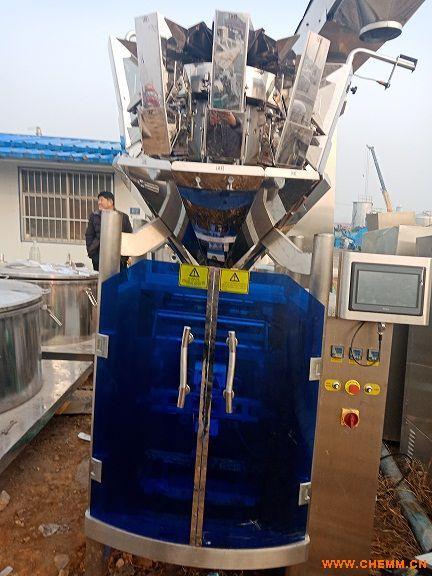 二手全自动多功能定量粉末颗粒灌装包装机