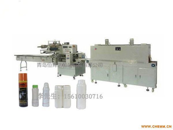农药瓶塑膜包装机