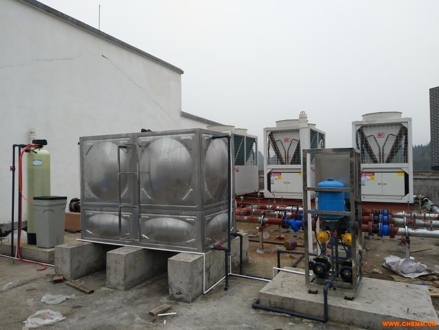南充3吨软化水处理设备及3吨供水设备装置