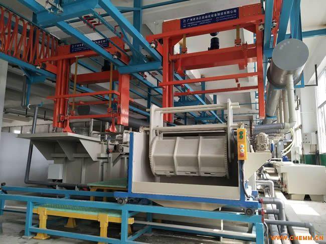 电镀生产线厂家  广州沛正自动化