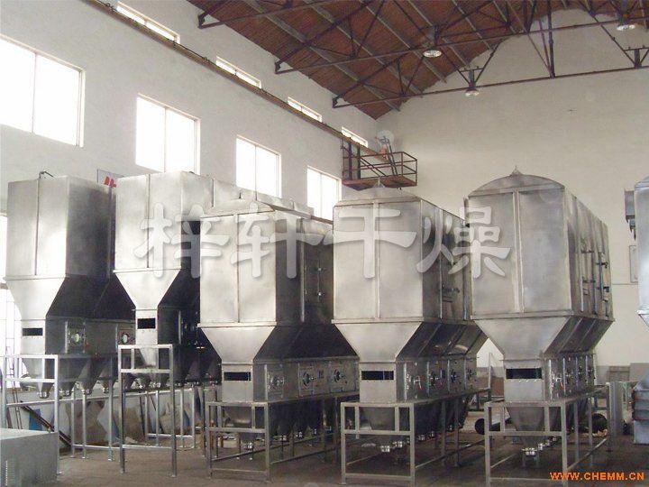 XF系列卧式沸腾干燥机 沸腾干燥机