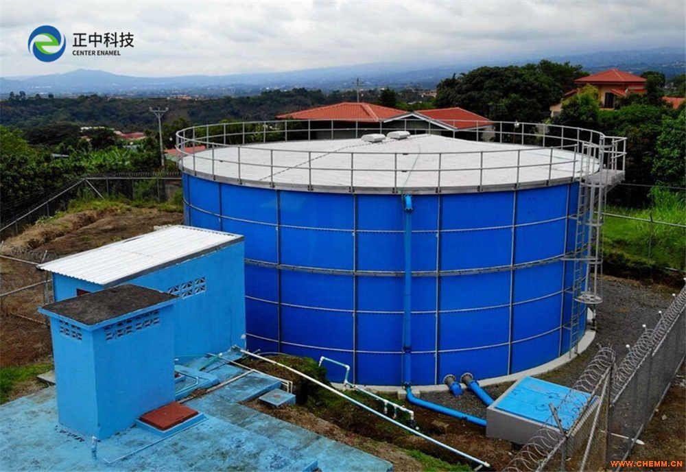 造纸污水处理储罐_造纸废水处理设备_搪瓷拼装罐